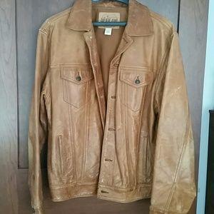 Men's Vintage Gap Leather Jacket